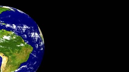 Weltkugel loop schwarz