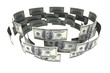 Dollars in circulation of money