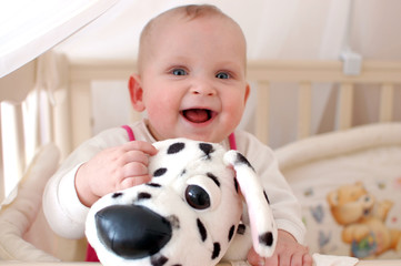 Baby Cute Laughing