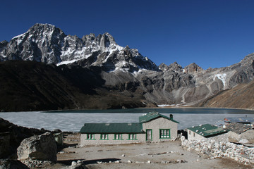 Gokyo village, Himalaya, Nepal