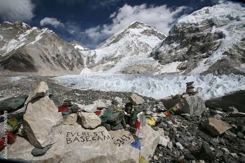 Mount Everest base camp, Himalaya, Nepal