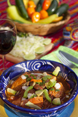 Pozole mexican traditionnal cuisine 2