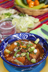Pozole mexican traditionnal cuisine 5