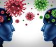 Contagious virus disease