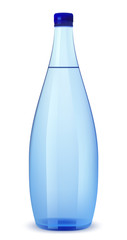 Bottle of water vector illustration