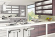 Modern Kitchen Design II (3d)