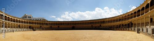 In de dag Stierenvechten Bullfighting arena