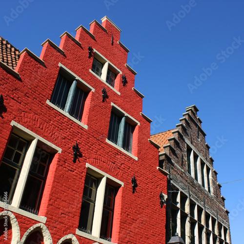 Gand architecture flamande de brad pict photo libre de for Architecture flamande