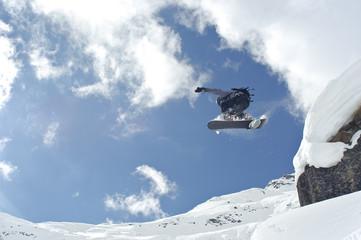 spektakulär snowboarden