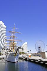 帆船 日本丸 横浜