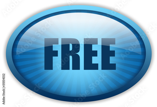 Free glossy icon