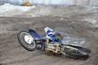 Samara motorsports mx rider turning falls