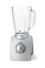 Food Blender isolated in white background with clipping path.