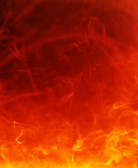 fiery hot background