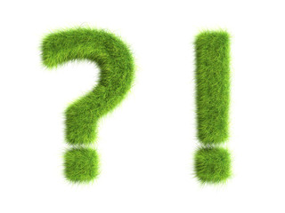 Grass symbols