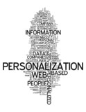 "Word Cloud ""Personalization"""