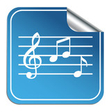 NOTE MUSIC ICON