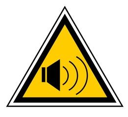 Precaución sonido