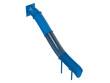 Blue waterslide
