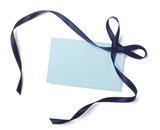 blue ribbon card note