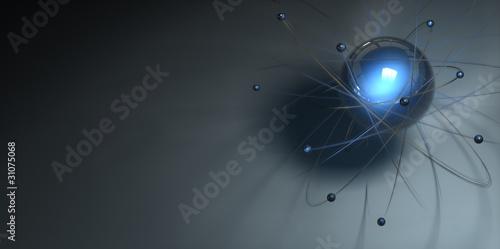 Atom Modell Neon 10