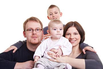 Gemeinsames Familienfoto