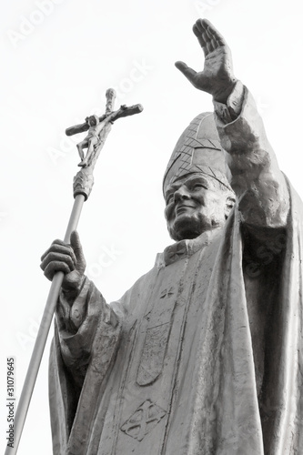Pope JP2 monument - 31079645