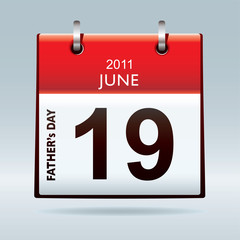 calendar icon fathers day