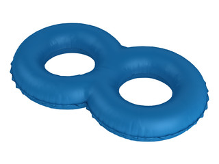 Double swimming ring
