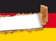 bandiera tedesca strappata