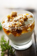 yogurt with honey and muesli
