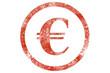 Euro stamp