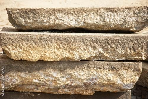 sandsteinplatten von kanusommer lizenzfreies foto 31086224 auf. Black Bedroom Furniture Sets. Home Design Ideas