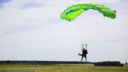 Save Parachute Landing