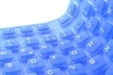 Tastiera flessibile di silicone poster