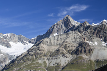 Berge in den Alpen