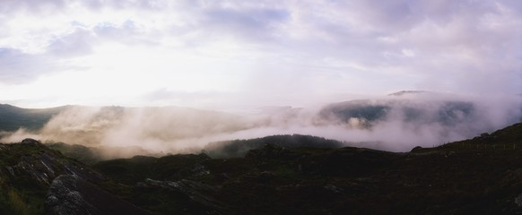 Early Morning Mist, Caha Pass, Glengarriff, Co Cork, Ireland