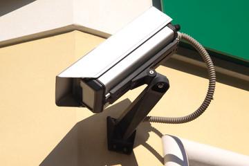 La telecamera di sorveglianza