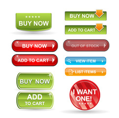 Add to cart web buttons