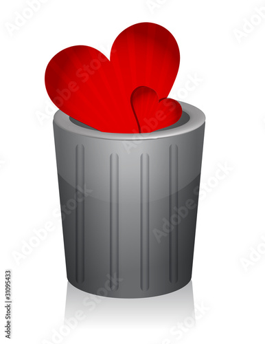 heart trash