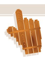 wood grain texture hand cursor