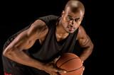 Fototapeta Strong basketball player