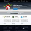 Web Design Website Elements Dark Blue Template