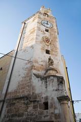 Clocktower. Monopoli. Apulia.