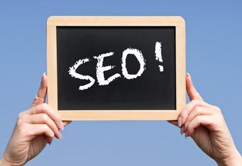SEO ! - Search Engine Optimization Concept