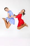 Fototapety Little dancer girls