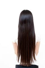 beautiful straight long hair