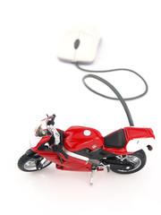 Online internet motorcycle