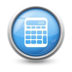 Symbole glossy vectoriel calculatrice 01