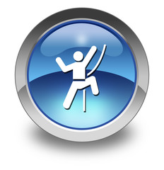 "Glossy Pictogram ""Rock Climbing"""
